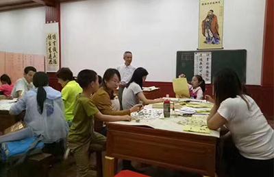 中升孔子学堂周末书法班
